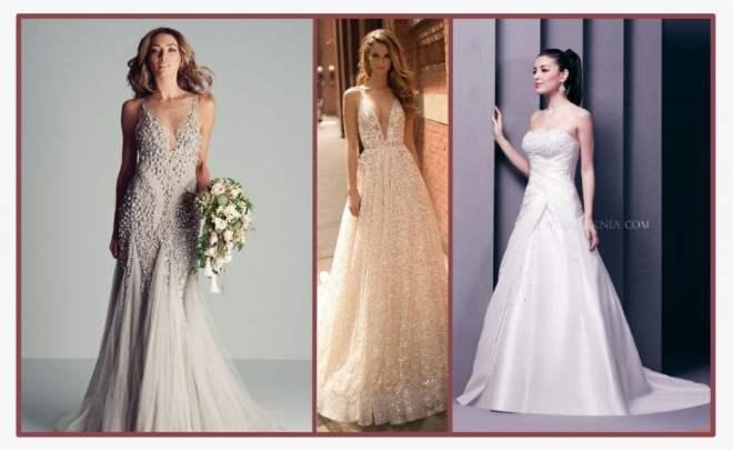 Peles que são valorizadas com o tom correto do vestido de noiva