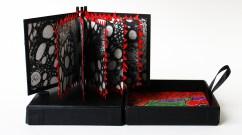 Blodsband, artists book i box