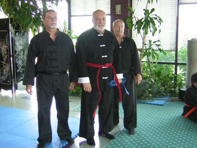 Wangs Martial Arts Tai Chi Ranktest result  Dec 15 2006