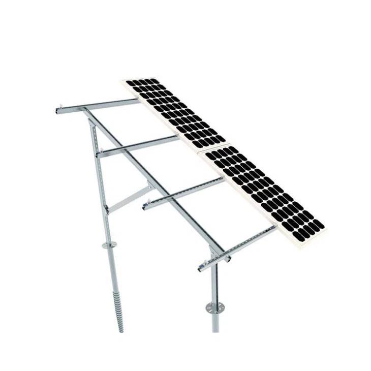 Galvanized Steel Solar Panel Ground Mount Manufacturers