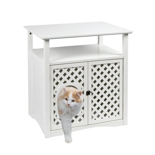 litiere compagnie meuble pour chat helena pour chats