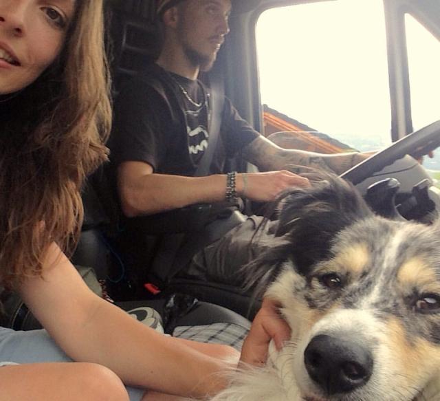 Photo de famille au départ du Ride Trip