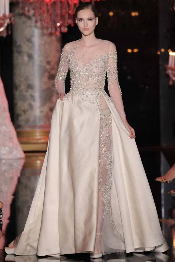 13 Inspirasi Gaun Kahwin Moden oleh Elie Saab Sesuai