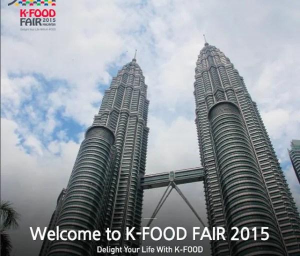 Jom Ke K-Food Fair Festival 2015 Hujung Minggu Ini!