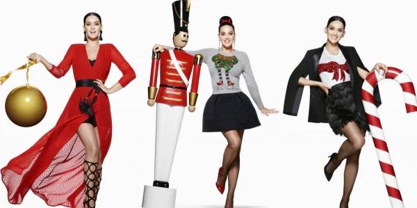 Katy Perry Jadi Muka Utama Kempen Iklan Perayaan H&M 2015!