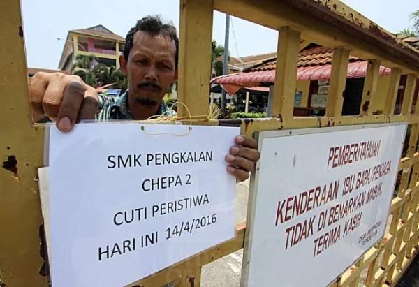 Histeria Terlihat 'Lembaga Hitam': SMK Pengkalan Chepa 2 Ditutup Sementara