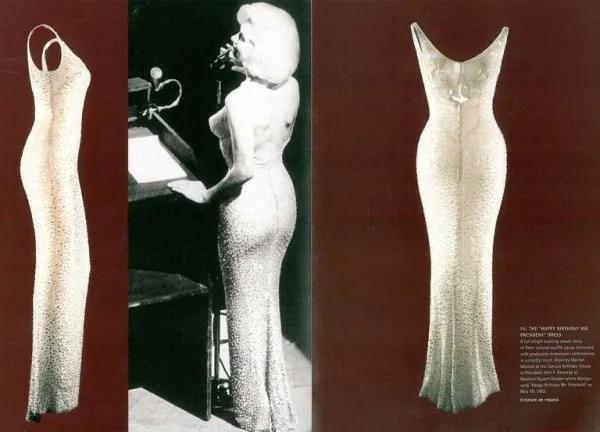 Dress 'Happy Birthday Mr President' Milik Marilyn Monroe Bakal Dilelong