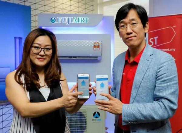 Fujiaire Perkenal Penyaman Udara Dengan Keupayaan WiFi