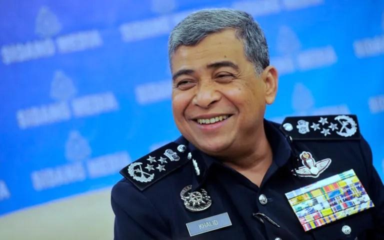 Tan Sri Khalid Abu Bakar Bersara Sebagai Ketua Polis Negara Hari Ini