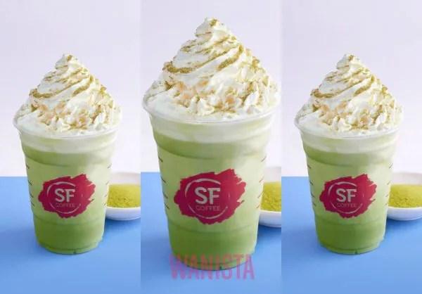 Rasai Kenikmatan Teh Hijau Bila Minum Matcharena Di San Francisco (SF) Coffee