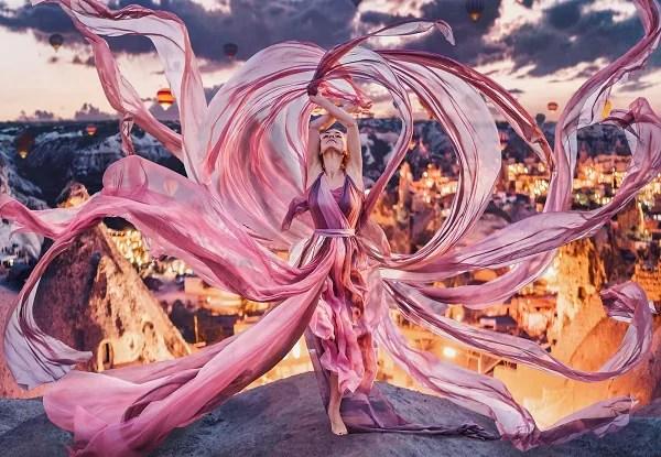 [10 Gambar] Jurugambar Hebat Ni Guna Dress Cantik Untuk Buat Korang Terbeliak