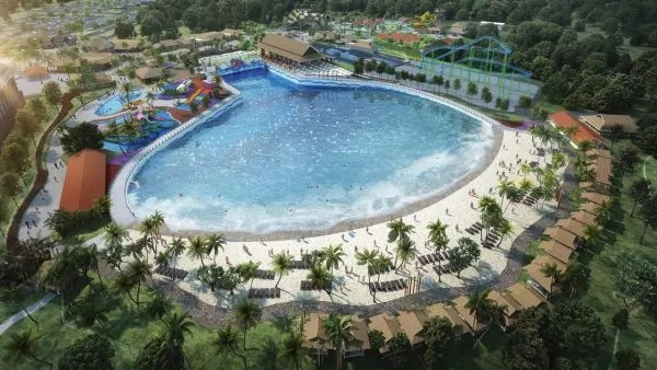 Amboi! Ada Taman Tema Air Baharu Kat Johor