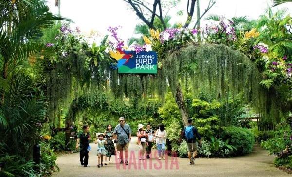 Wanista Kagumi Usaha Wildilife Reserves Singapore Bangun 4 Taman Haiwan Ini
