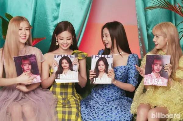 Tampil Serba Colourful, Blackpink Sumpah Cantik Dalam Majalah Billboard
