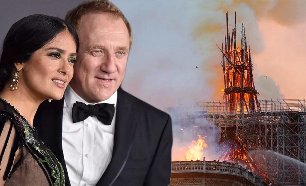 Siapa Suami Aktres Salma Hayek, Jutawan Derma Jutaan Ringgit Bina Semula Notre Dame