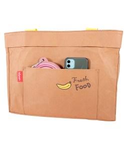 Washable Kraft Paper Pet Carrier Fresh Food Organic