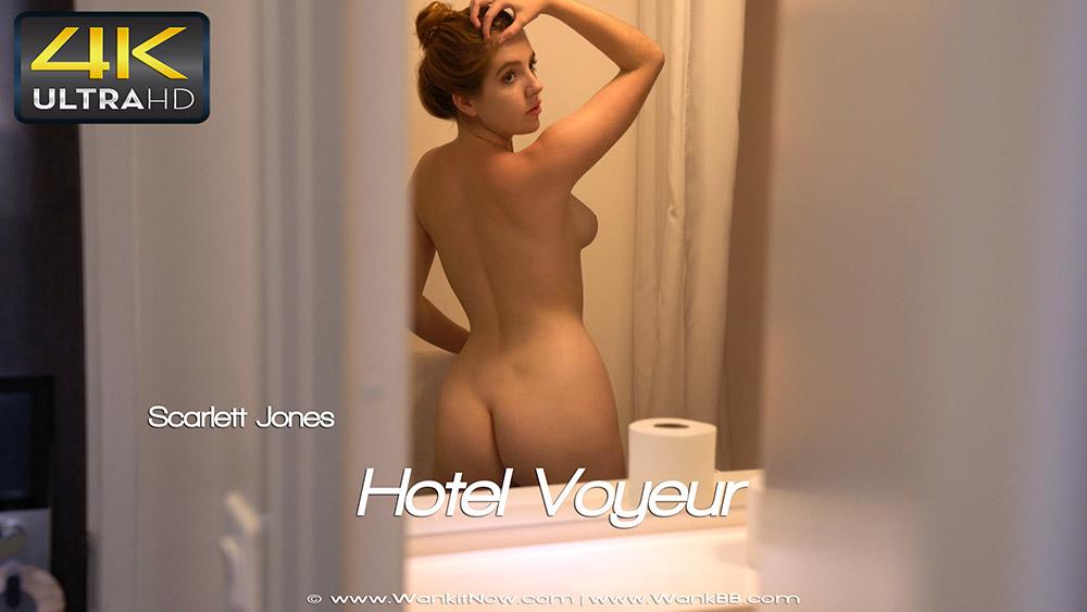 Scarlett Jones Hotel Voyeur  Sexy Videos  Wank it Now