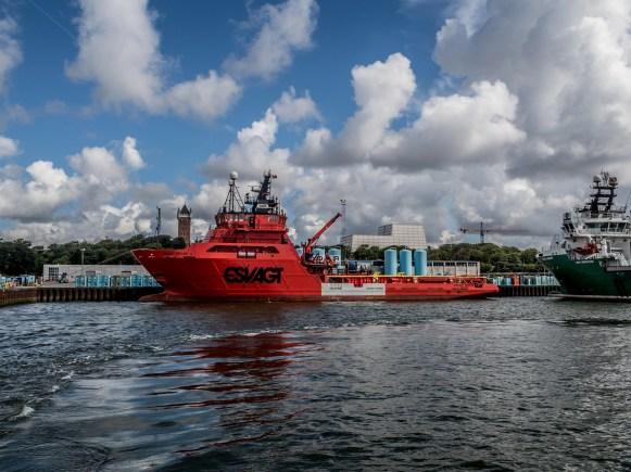 Esbjerg port