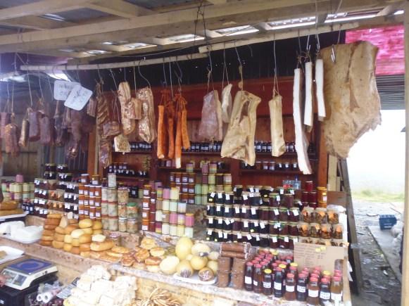Transfagarasan - food stalls