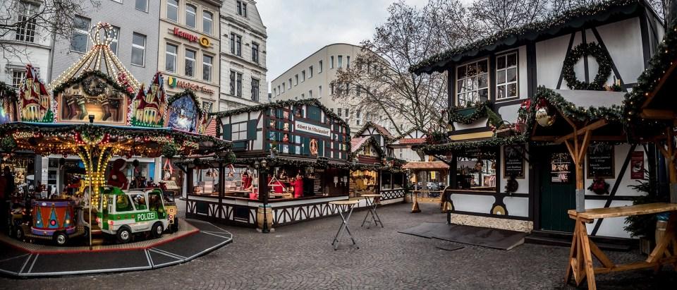 Christmas Market on the Rudolfplatz