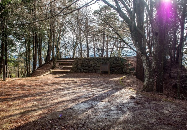 Higashiyama Walkway - castle ruins