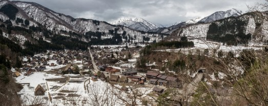 Shirakawa-Go during my stay