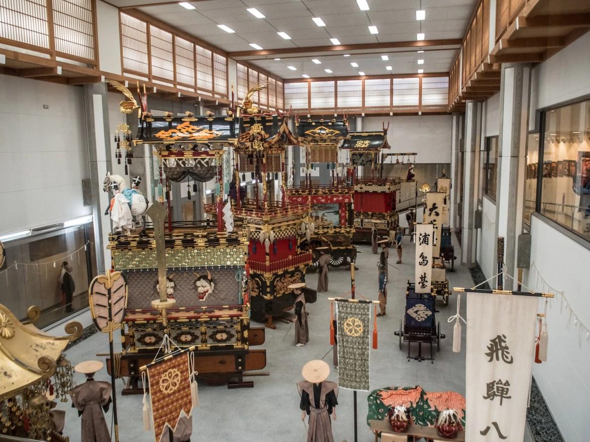 The Takayama Matsuri floats