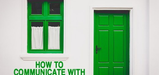 how to communicate with a group home