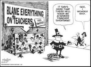 blame the teachers