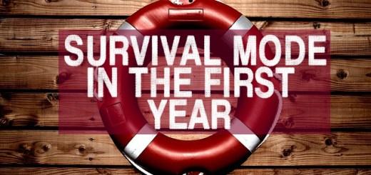 First year teacher survival mode