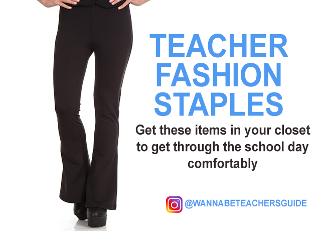 teacher fashion staples