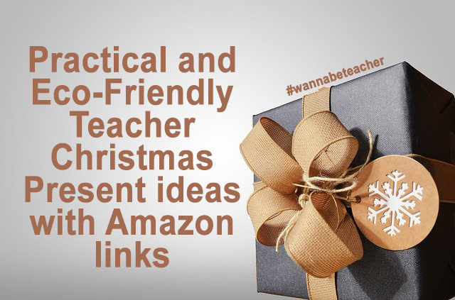 Teacher Christmas Present ideas with Amazon links