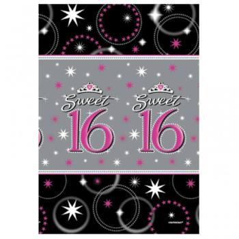 """Paper Tablecover Sweet 16 - 54"""" x 102""""-0"""