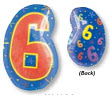 "18"" Xl: 6 Multi-Color Balloon S60 -0"