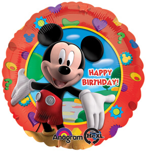 "18"" Mickey's Clubhouse Birthday Balloon S50-0"