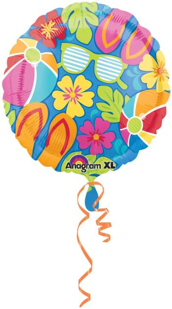 "18"" Summer Splash Balloon S40 -0"