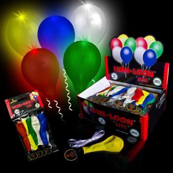 Light Up LED Balloons - 5CT-0