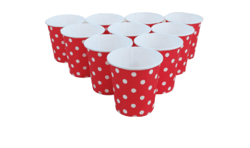 Polka Dot Paper Cups 9oz - 20CT-0
