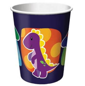 Dinosaurs Theme Party 9oz Cups - 8CT-0
