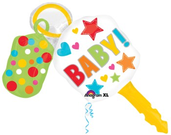 "Baby Keys Balloon 38"" P35-0"