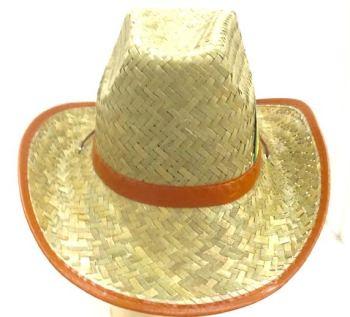 Brown Cane Hat-0