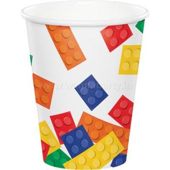 Lego Block Party 9oz Paper Cups - 8PC-0