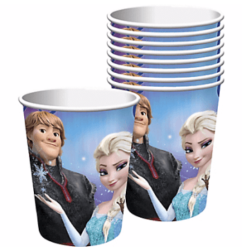 Frozen 9OZ Cups - 8PC-0