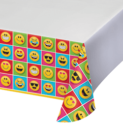"""Emojies Tablecover 54X102"""" -0"""