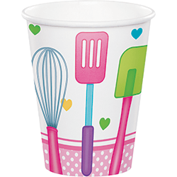 Little Chef Paper Cups - 8PC-0