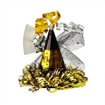 Mini Cheers Cone Clip Hat Black-0