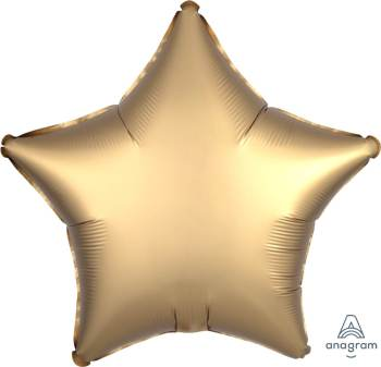 "19"" Matte Gold Star Balloon S15-0"
