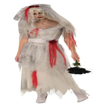 Adult Ghost Bride Costume Medium-0