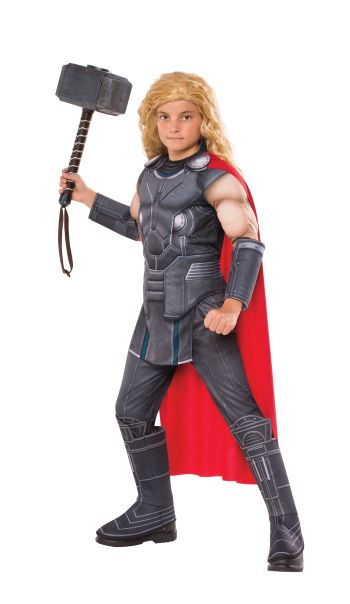 Kids Deluxe Muscle Chest Thor Costume Large-0