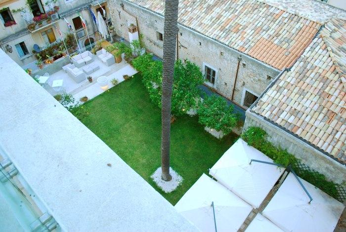 de tuinlounge van Il piccolo giardino (c) A design